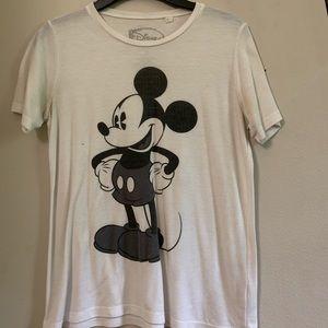 Disney Mickey Mouse white t-shirt